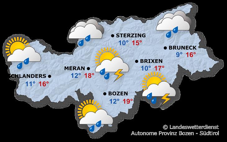 Das Wetter heute, 26.04.2019