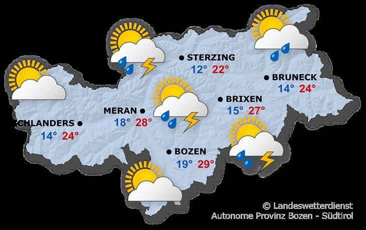 Das Wetter heute, 21.08.2019