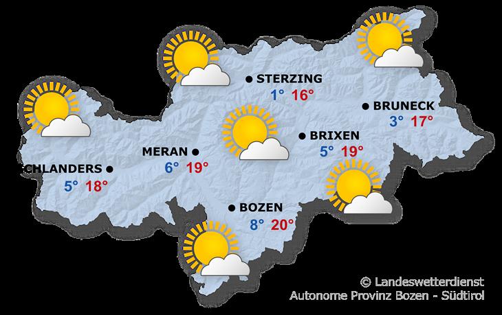 Das Wetter heute, 13.10.2019