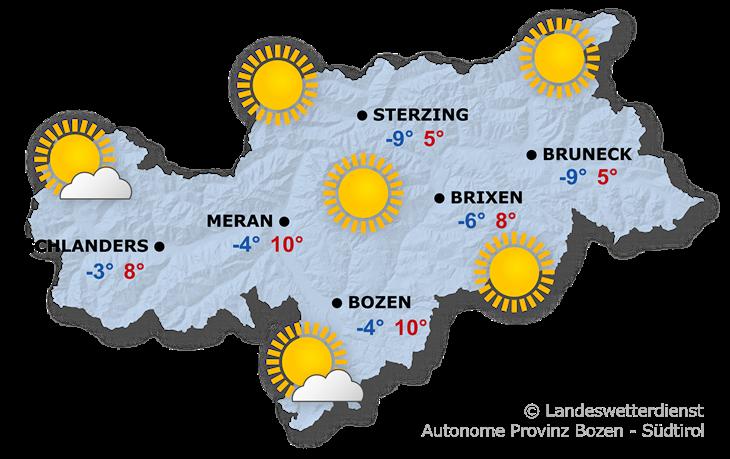 Das Wetter heute, 24.01.2020