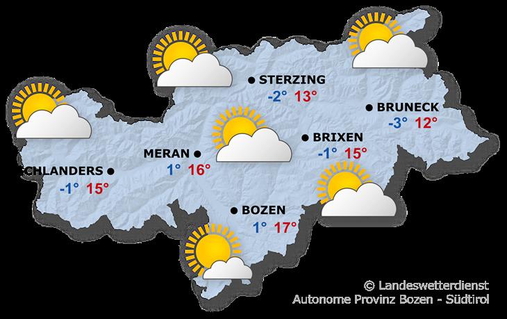 Das Wetter heute, 23.02.2020