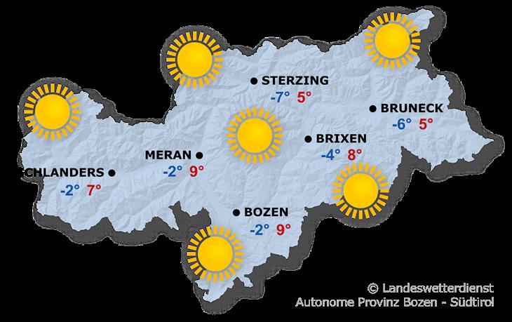 Das Wetter heute, 25.11.2020