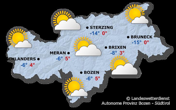 Das Wetter heute, 19.01.2021
