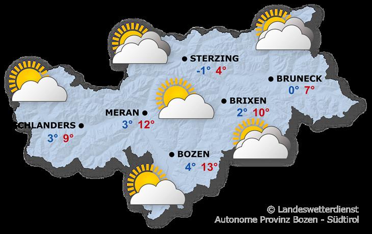Das Wetter heute, 13.04.2021