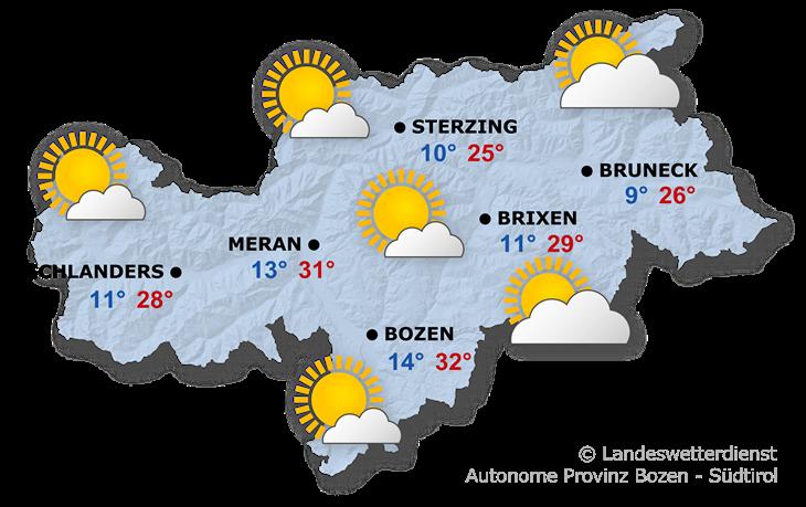 Das Wetter heute, 12.06.2021