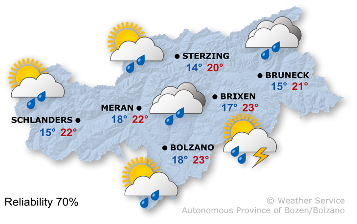 The weather today, 16.09.2021