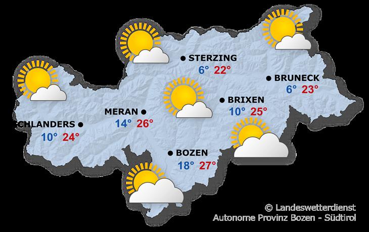Das Wetter heute, 18.09.2021