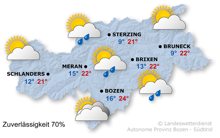 Das Wetter heute, 26.09.2021