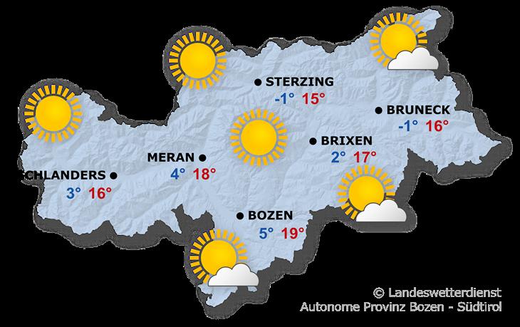 Das Wetter heute, 18.10.2021