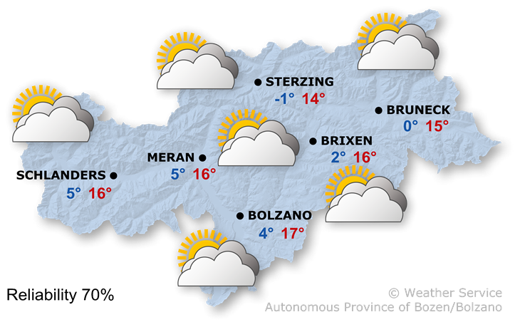 The weather today, 19.10.2021